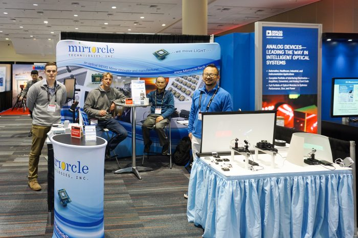 Mirrorcle Technologies Photonic West 2019