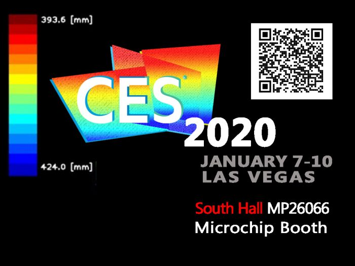 CES2020 Mirrorcle SyMPL Lidar at Microchip booth MP26066